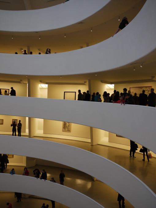 Guggenheim Floors