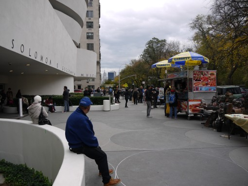 The Guggenheim Museum and 5th Avenue