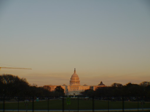 The Capitol Building at Sunset