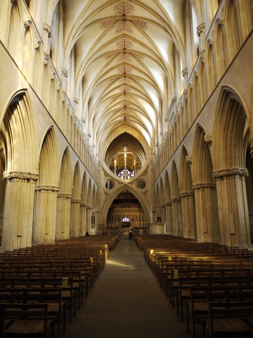 Wells Cathedral, long view