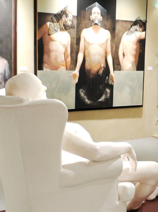 Male nudes....