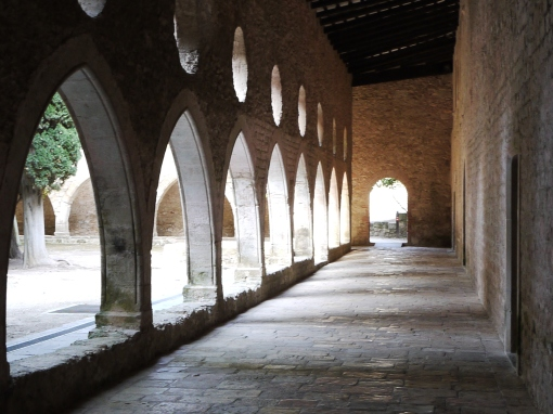 Cloisters in a Monastry
