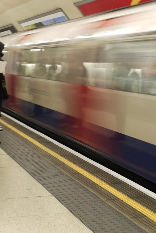 People on a tube