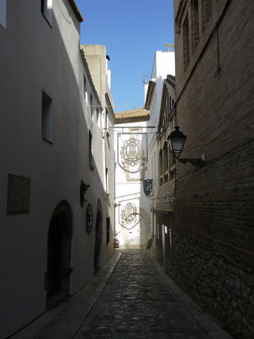 Back streets in Sitges