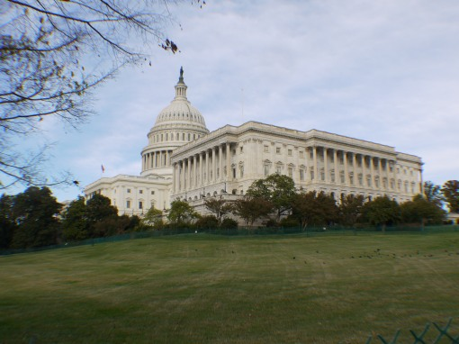The Capitol building at the time of the last Presidential election