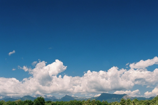 Its still a sunny day in Tuscany