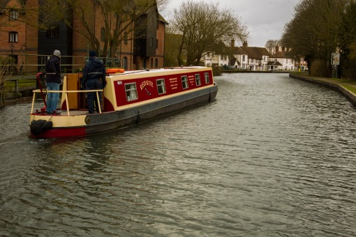 A pie and a pint at the next pub! Call it Zen in the art of long-boating.