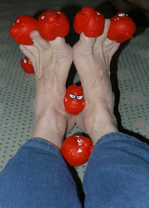 Red Toes day!
