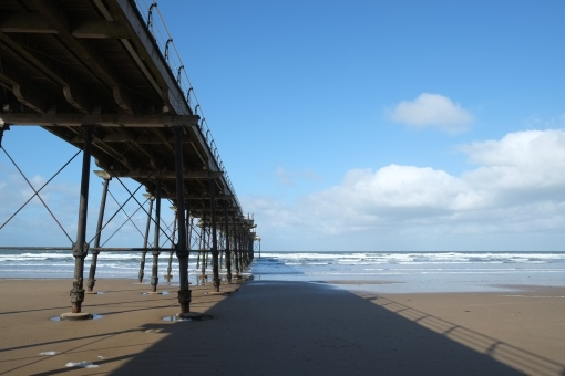 The full pier....