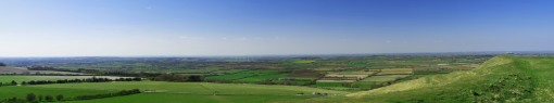 The Cotswolds from the Vale of the White Horse