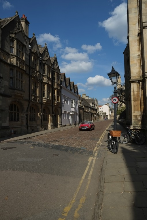 Modes of transport in Oxford