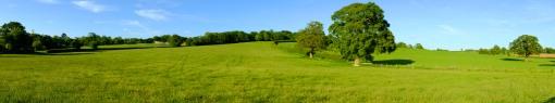 The fields round my village