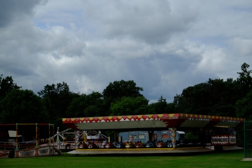 Always rains Fun Fair week in August!