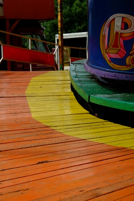 Colour boardwalk