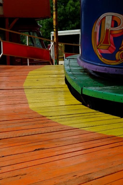 Colour boardwalk