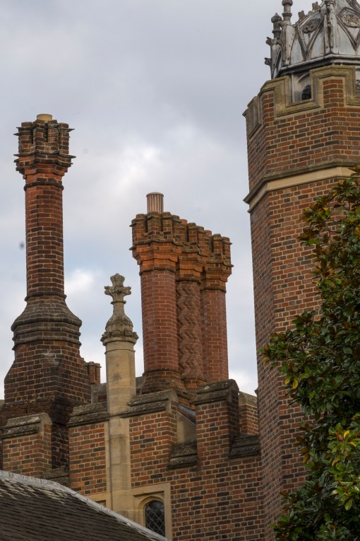 The Tudor Chimneys of Hampton Court