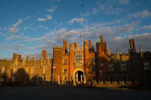 Hampton Court at sunset
