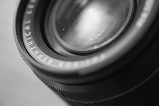 Dust on a Lens