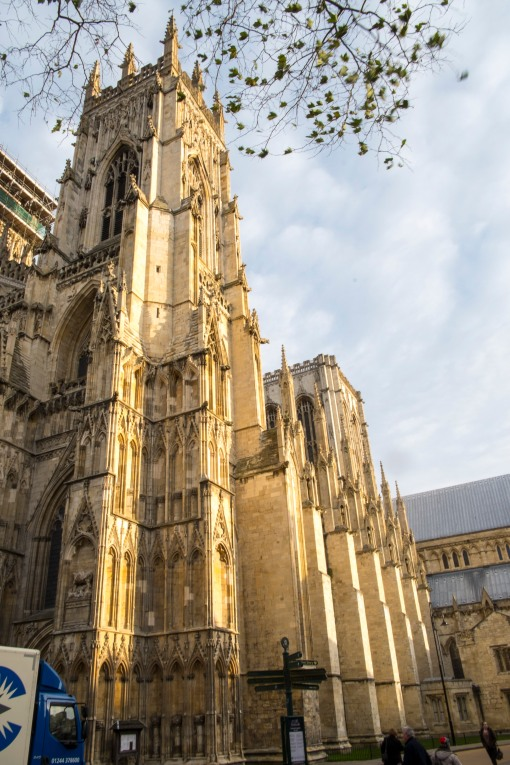 Yorkminster on a sunny day