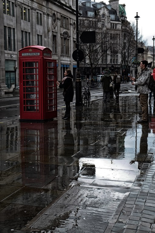 the wet phone box