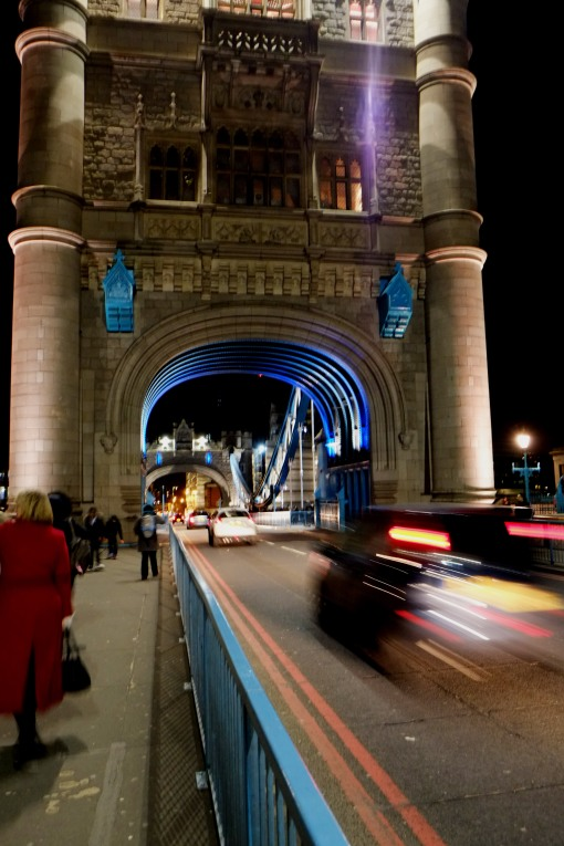 Rush Hour on Tower Bridge