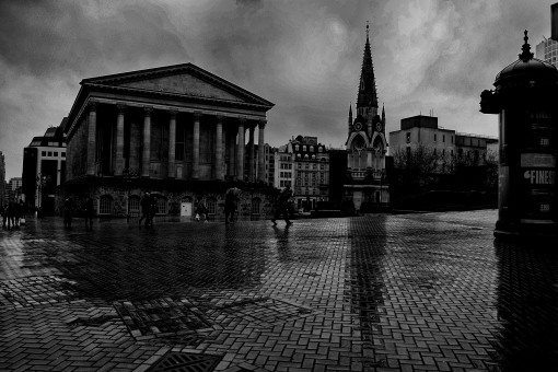 Birmingham street photography..its raining