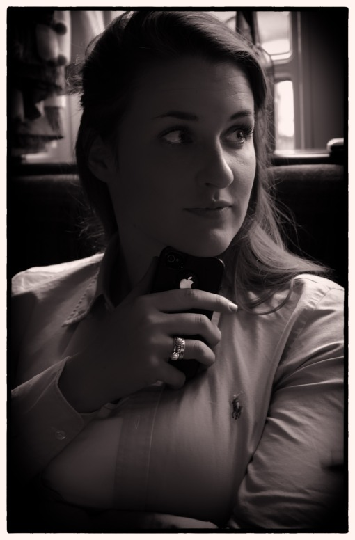 Listening....pensive