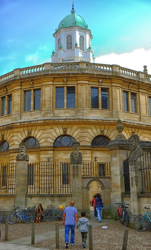 Into the Sheldonian
