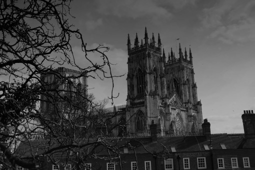 York Minster flies the flag