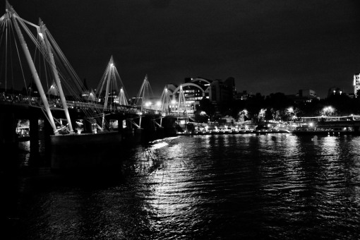 Charing Cross from South Bank